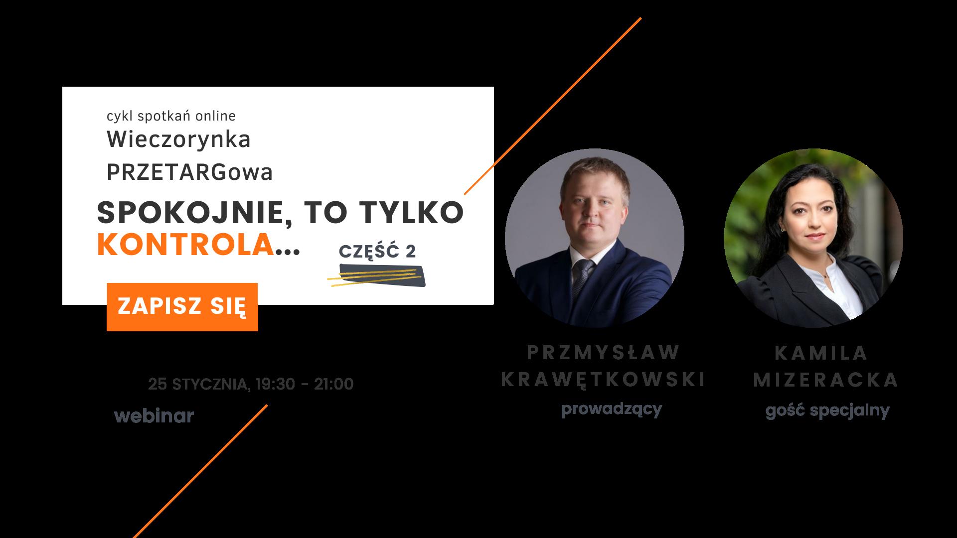 Część 2 Wieczorynka PRZETARGowa.pl z Przemkiem Krawętkowskim (1)